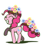 flowers flutterluv highres pinkie_pie
