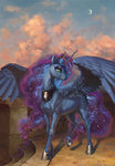 absurdres bra1neater highres princess_luna