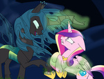 imp-oster magic princess_cadance queen_chrysalis