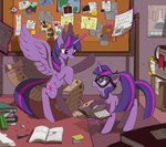 book cofotory glasses magic princess_twilight twilight_sparkle