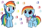 :3 filly kloudmutt rainbow_dash smittyg