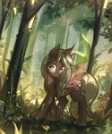 absurdres changeling forest highres mirroredsea original_character trees