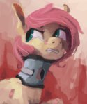 fluttershy injured manecut sterfler