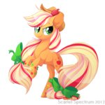 applejack rainbow_power scarlet-spectrum