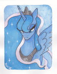 princess_luna trefleix watercolor