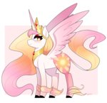 absurdres emera33 highres princess_celestia redesign