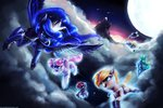absurdres children_of_the_night highres magic original_character princess_luna tarantad0