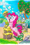 andy_price apples bubble cake cauldron gummy pinkie_pie record zecora