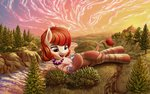 absurdres big highres ioverd original_character scenery trees