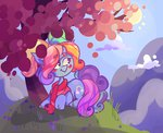 g3 hoaxghost rainbow_dash_(g3) tree