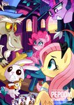 alice_in_wonderland angel cards costume discord fluttershy insanity pepooni pinkie_pie rarity twilight_sparkle watch
