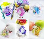 applejack fluttershy highres main_six pinkie_pie princess_twilight rainbow_dash rarity renciel twilight_sparkle