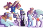 flash_magnus heyerika highres mage_meadowbrook mistmane rockhoof somnambula starswirl_the_bearded