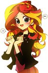 anime anime_as_fuck equestria_girls humanized korean memoneo sunset_shimmer