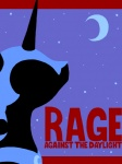 album_cover mochabean moon nightmare_moon parody rage_against_the_machine simple