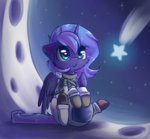 astronaut highres princess_luna space_suit suplolnope young