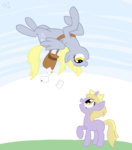 derpy_hooves dinky_hooves shinyvulpix