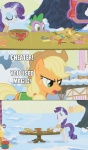 applejack artist_unknown highres huge_jerk macro rarity screencap spike