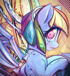mirroredsea rainbow_dash robot