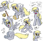cardboard_box dancing derpy_hooves muffin redapropos transparent