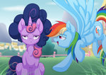 highres littlehybridshila rainbow_dash twilight_sparkle