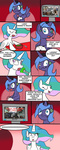 call_of_duty comic highres mister-markers princess_celestia princess_luna xbox