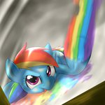 behind-space rainbow_dash