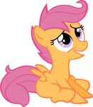 highres moongaze scootaloo transparent vector