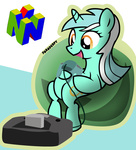 highres i_shall_not_use_my_hooves_as_hands lyra_heartstrings n64 nintendo paraderpy
