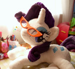 glasses piquipauparro plushie rarity toy