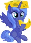 absurdres cheese cyanlightning highres princess_luna vector