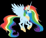 fim_crew glamourkat princess rainbow_dash transparent