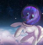 absurdres autumnvoyage highres princess_luna space space_suit stars