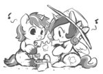 colt ende26 filly hat princess_cadance sand sandcastle shining_armor
