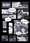 applejack comic grayscale highres karzahnii nintendo parody rainbow_dash super_smash_bros