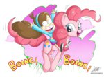 gravity_falls mabel_pines pinkie_pie the-butch-x transparent