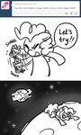 ask comic cuteosphere huge_jerk little moon pinkie_pie space twilight_sparkle