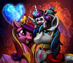 crystal_heart harwick highres princess_cadance princess_flurry_heart shining_armor
