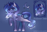 highres princess_luna redesign shimayaeiko
