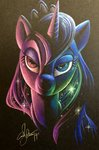 andy_price princess_luna traditional_art