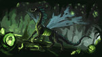 dragon highres plainoasis queen_chrysalis species_swap