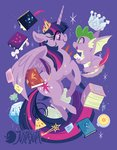 book justasuta princess_twilight scroll spike twilight_sparkle