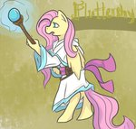 anthro fluttershy robe staff yuripaws