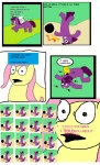 artist_unknown comic crossover fluttershy homestuck mspaint sweet_bro_and_hella_jeff twilight_sparkle