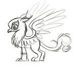 fim_crew gilda lauren_faust production_art sketch
