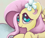 filly flowers fluttershy highres snufflin