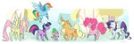 applejack egophiliac fluttershy highres main_six pinkie_pie rainbow_dash rarity spike twilight_sparkle