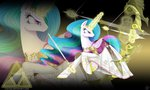 bow_(weapon) ciscoql magic princess_celestia sword the_legend_of_zelda weapon