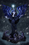 briannacherrygarcia cloak horn humanized magic princess_luna spirit_of_hearth's_warming_yet_to_come wings