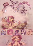 applejack comic fluttershy fluttershy's_cottage main_six pinkie_pie rainbow_dash rarity twilight_sparkle xxmioxx